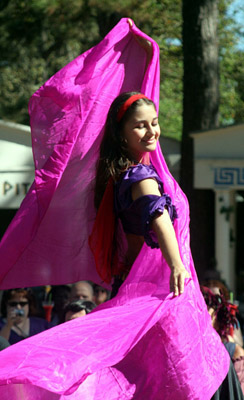 Alla of Gypsy Dance Theatre